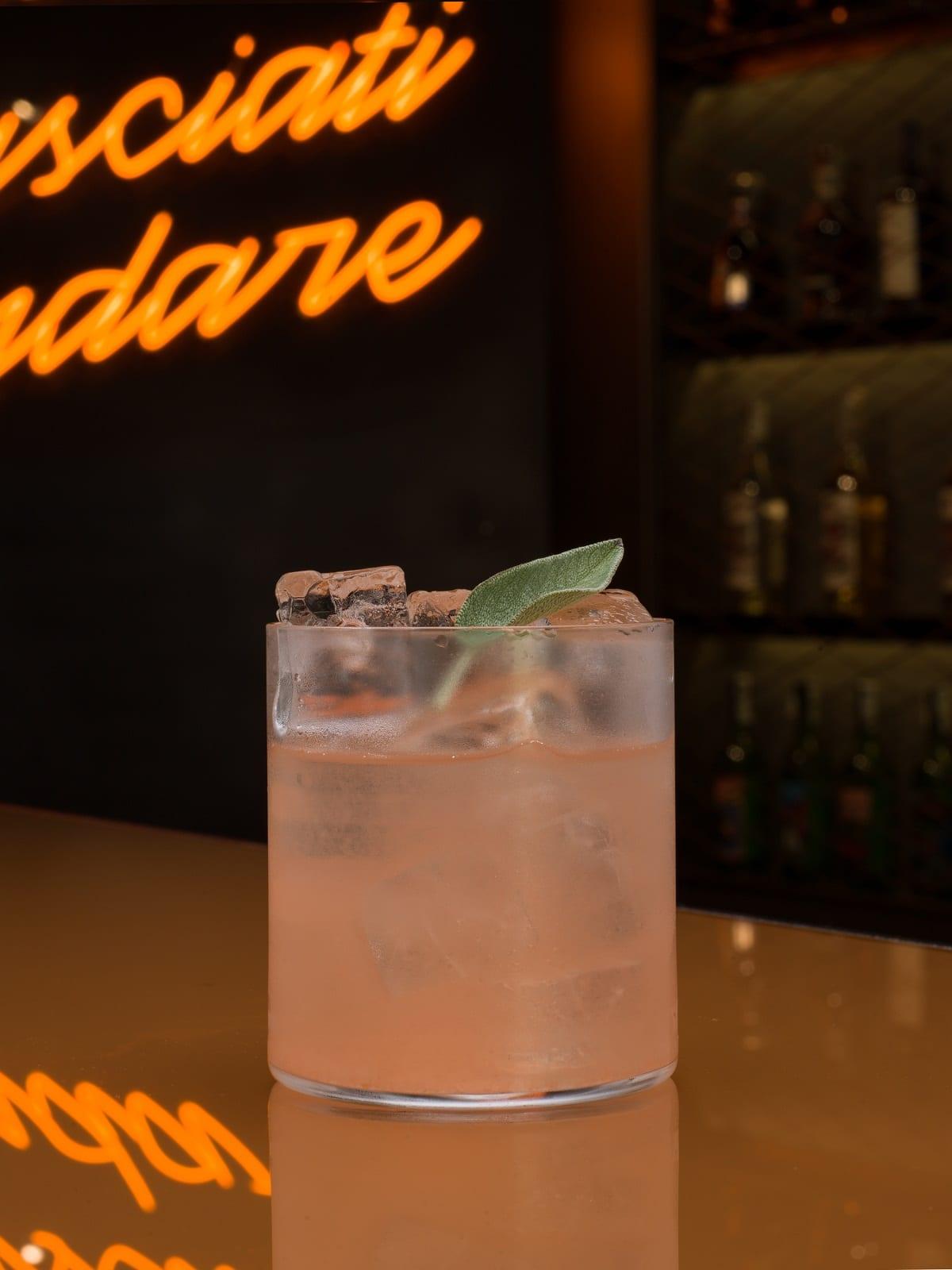 Spirito Felix cocktail