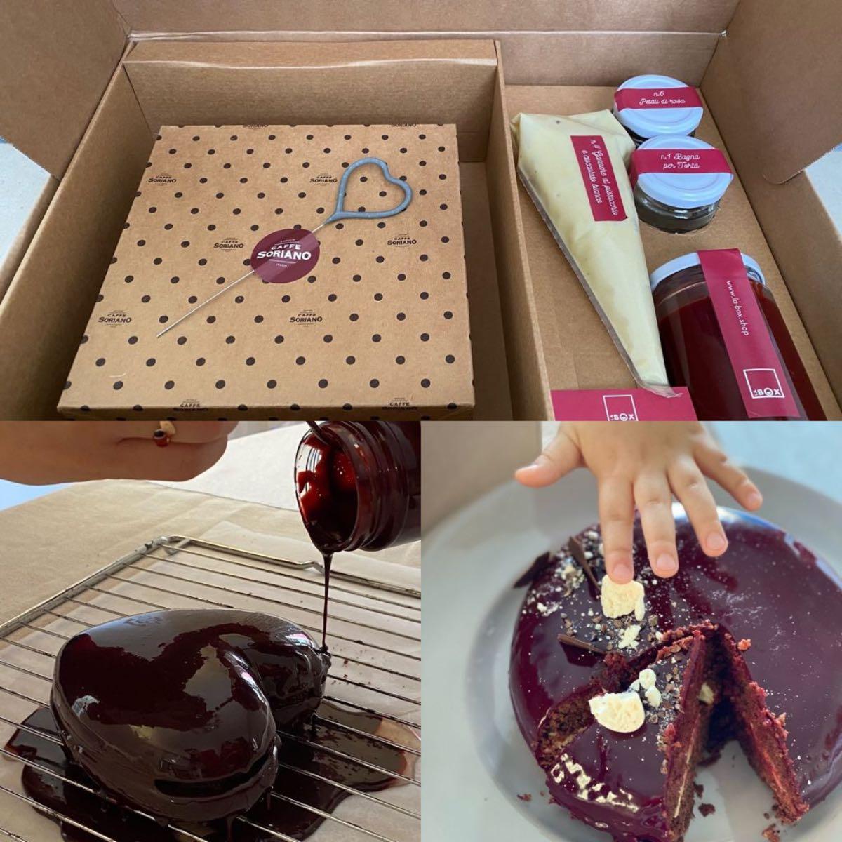 Festa della mamma - kit torta box