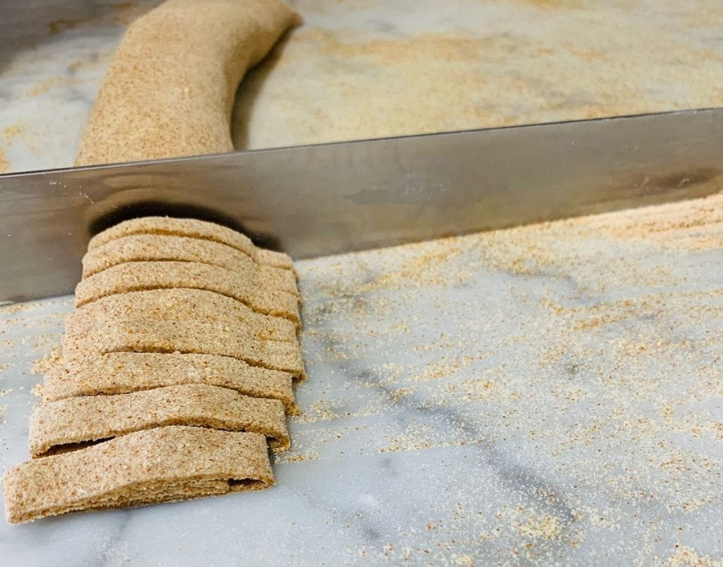 fettuccine farina di miglio di Meraviglie in pasta