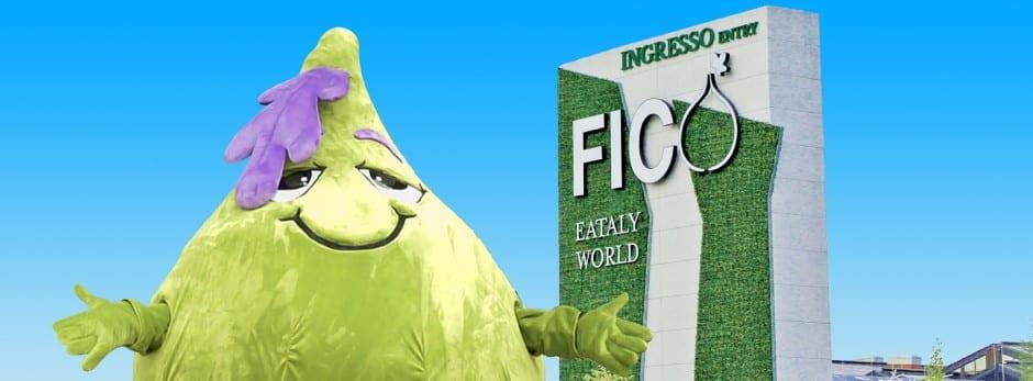La nuova mascotte di Fico Eataly