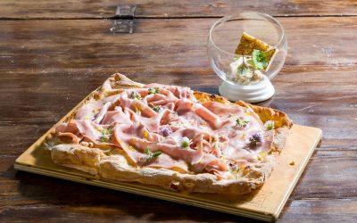La pizza rosa di Casa Goffi