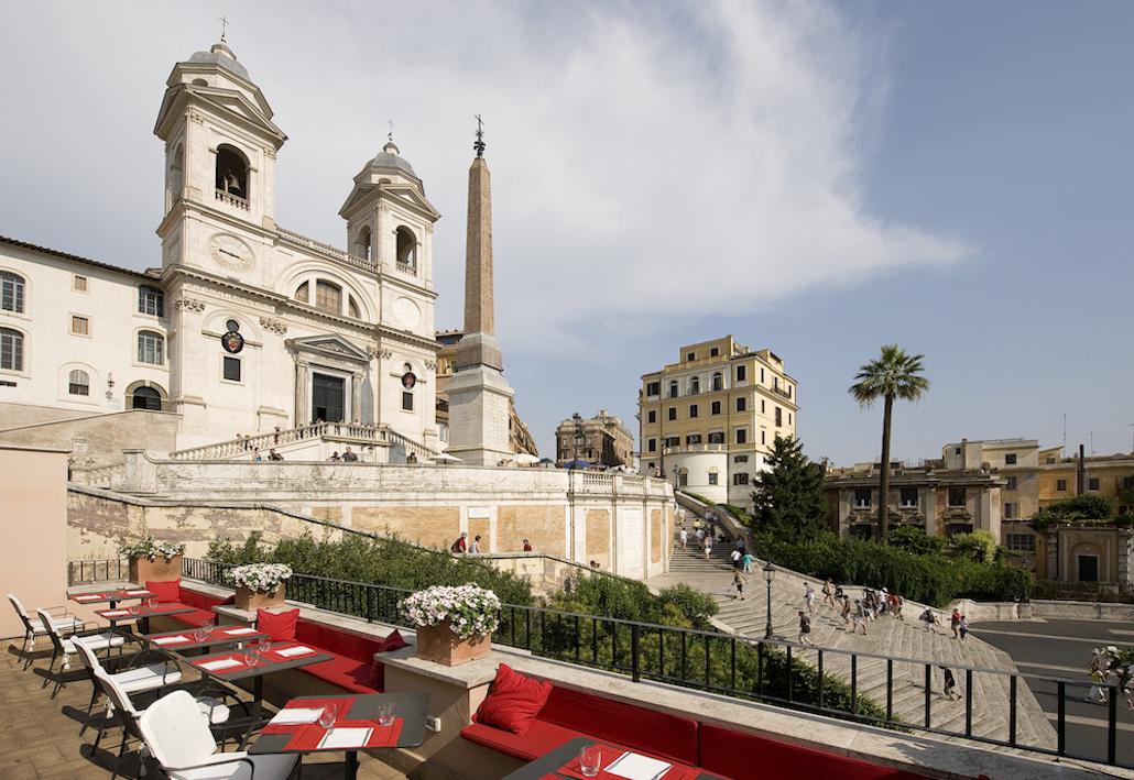 Palazzetto Hotel Hassler Villa Medici-Roma