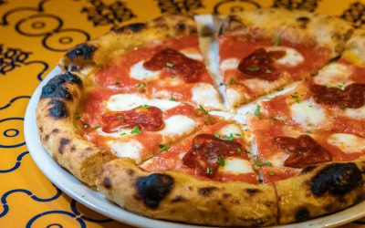 Paglià Pizza e Fichi DIAVOLA CON SOPPRESSATA DI NERO CALABRESE