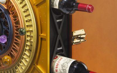 Cofanetto con bottiglie di Petrus 2000