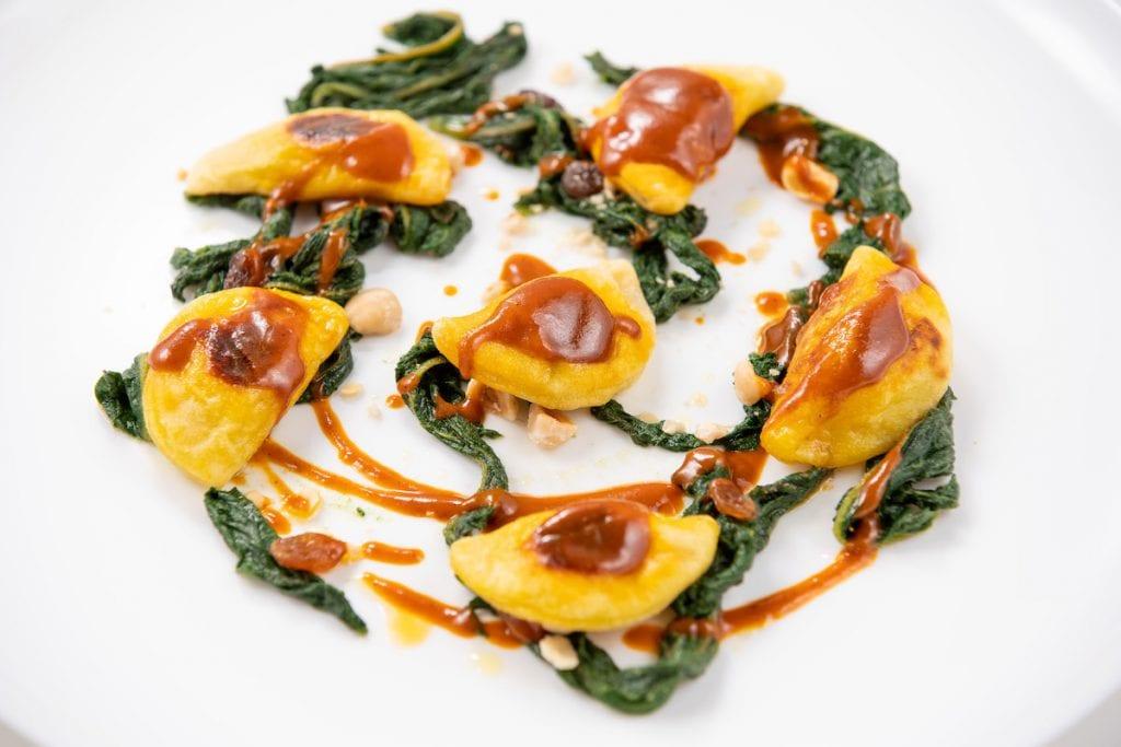 Ravioli mezzaluna di patate Corrado Parisi - Du Matt