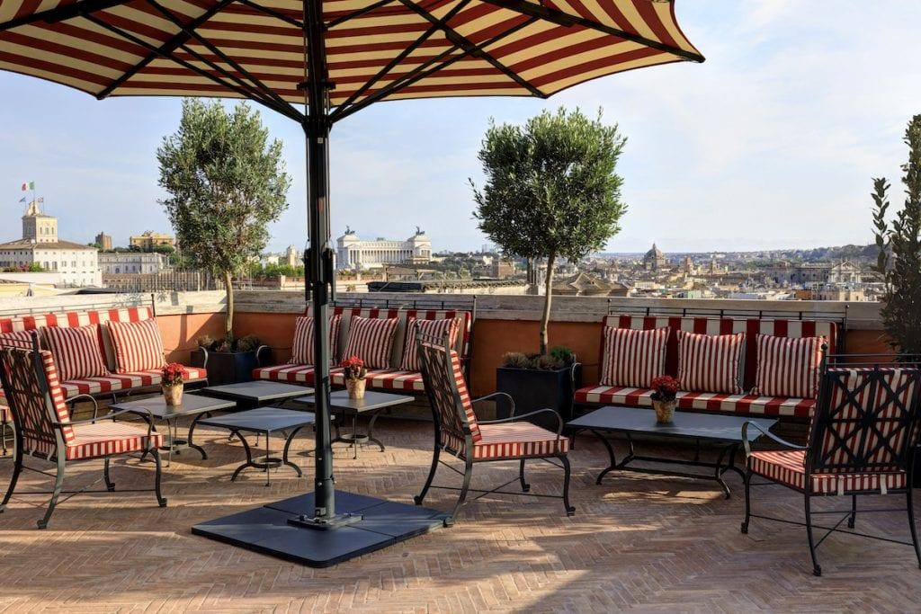 RFH Hotel de la Ville - Cielo
