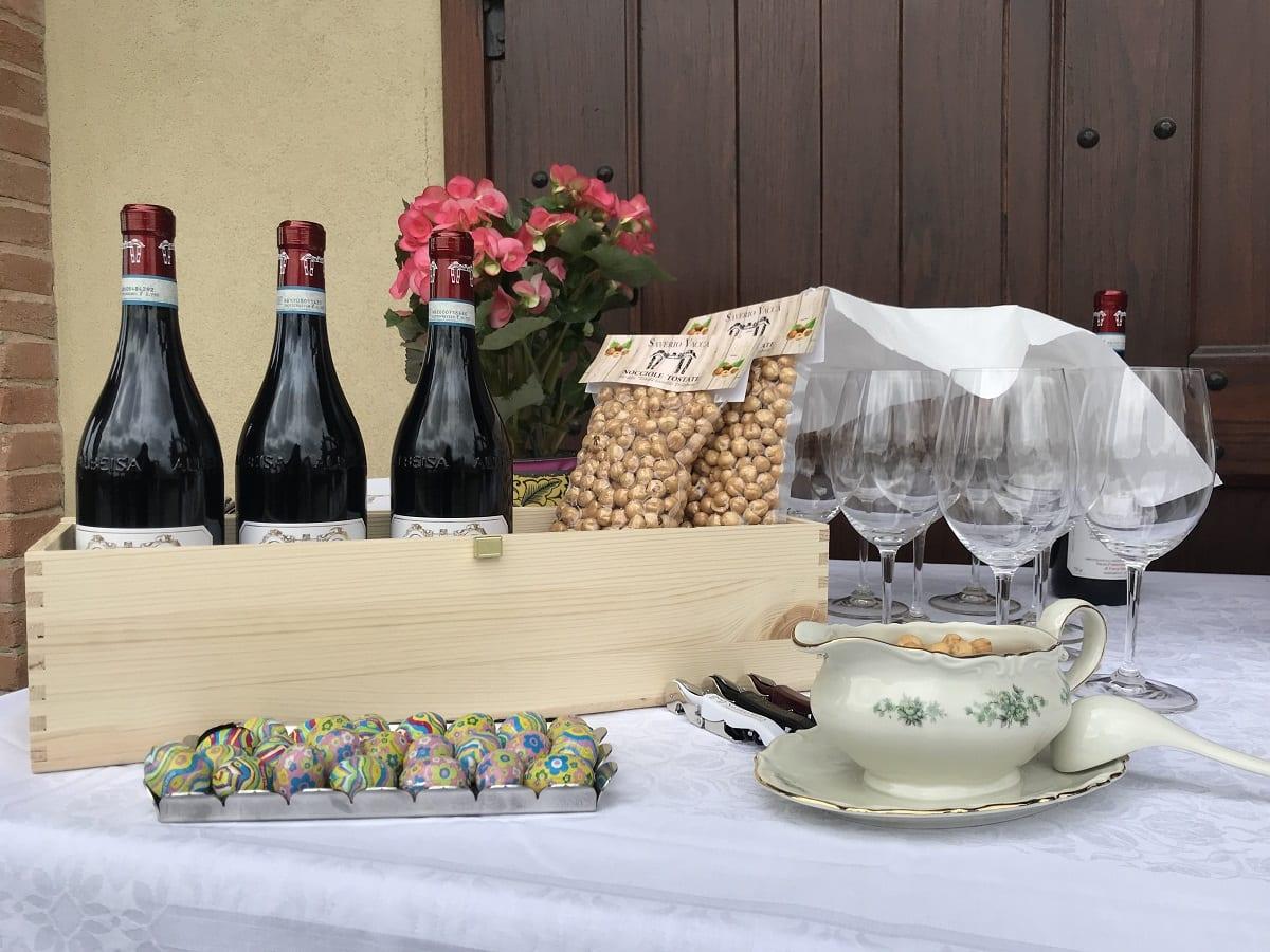 Vino e nocciole del Piemonte