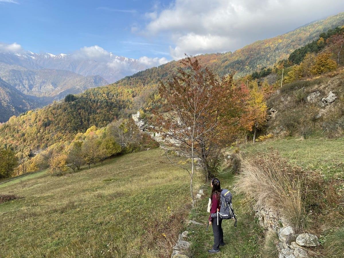 In cammino in Val Germanasca