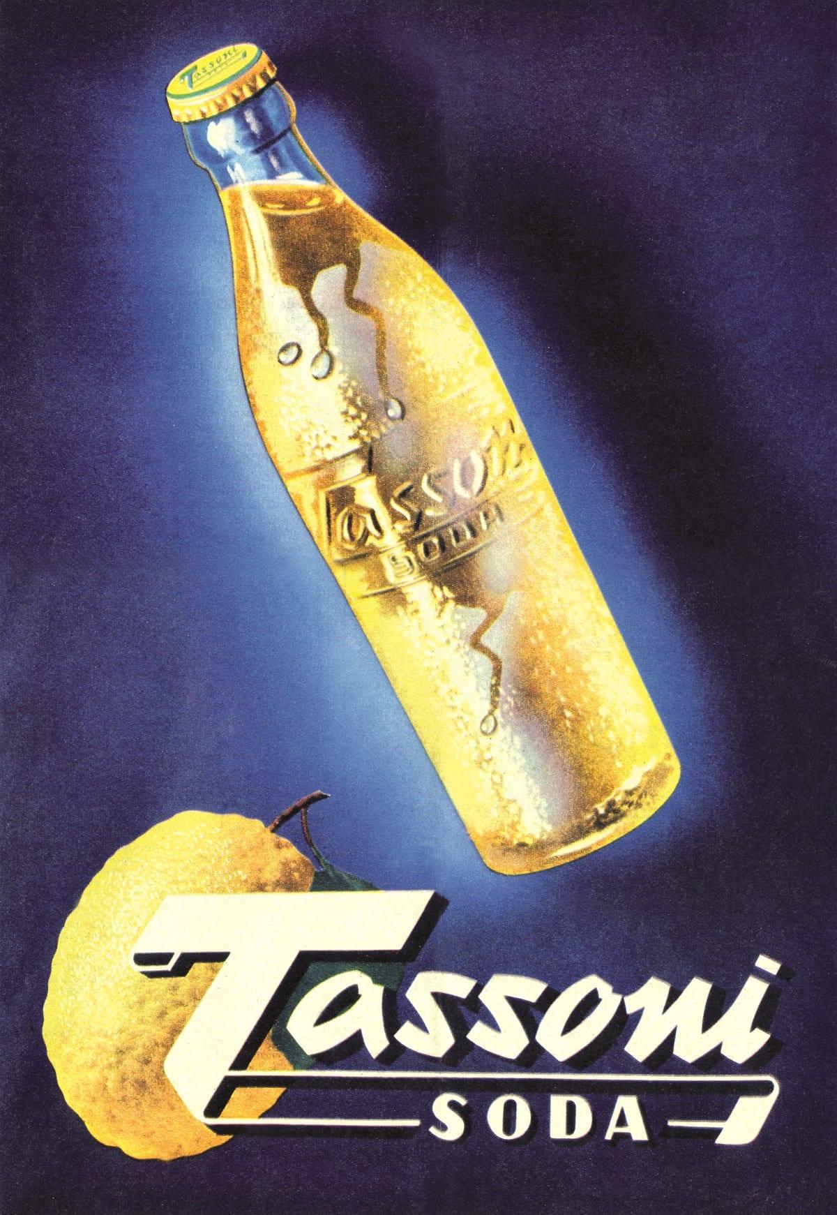 Locandina della Cedrata Tassoni