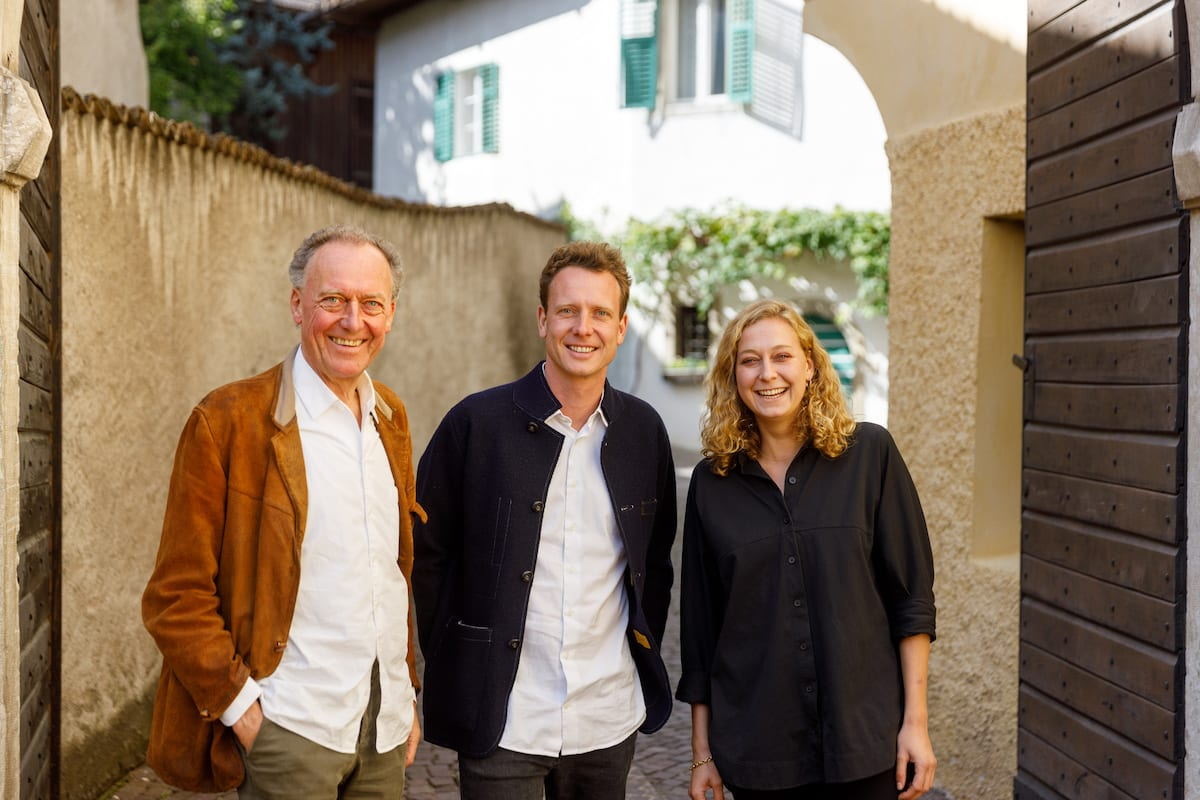 Alois, Clemens and Helena Lageder_(c) Thilo Weimar for Wine Spectator