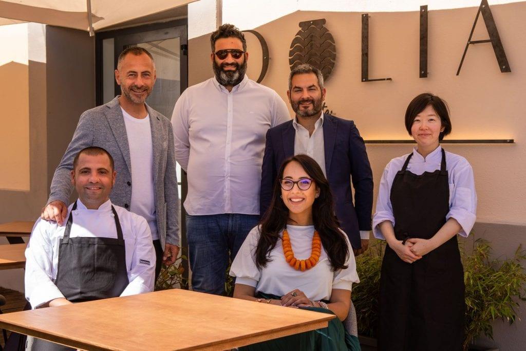 Dolia: proprietà - Elena Di Palma_Benedetto Leone_Rocco Toti - gli chef