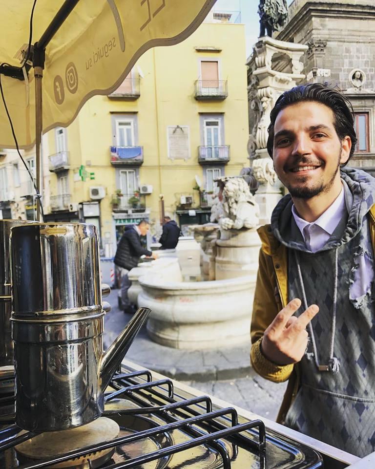 Don Café, Napoli