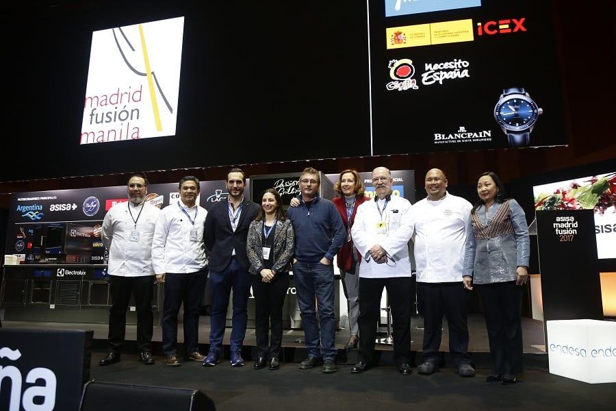 La presentazione di Madrid Fusión Manila