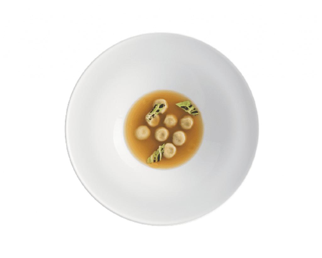 Un piatto del ristorante Abbruzzino