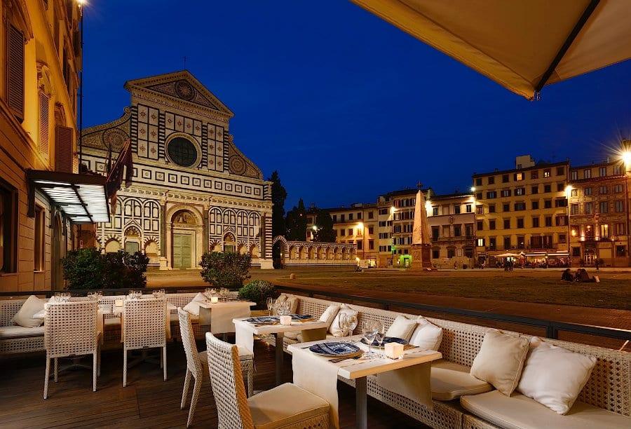Al Fresco dell'Hotel Minerva a Firenze