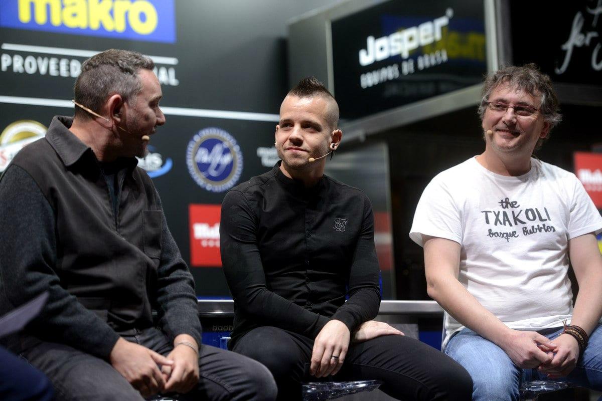 Albert Adrià, David Muñoz e Andoni Luis Aduriz