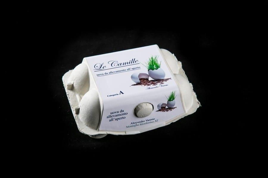 Le uova di Le Camille. Foto di Alberto Blasetti