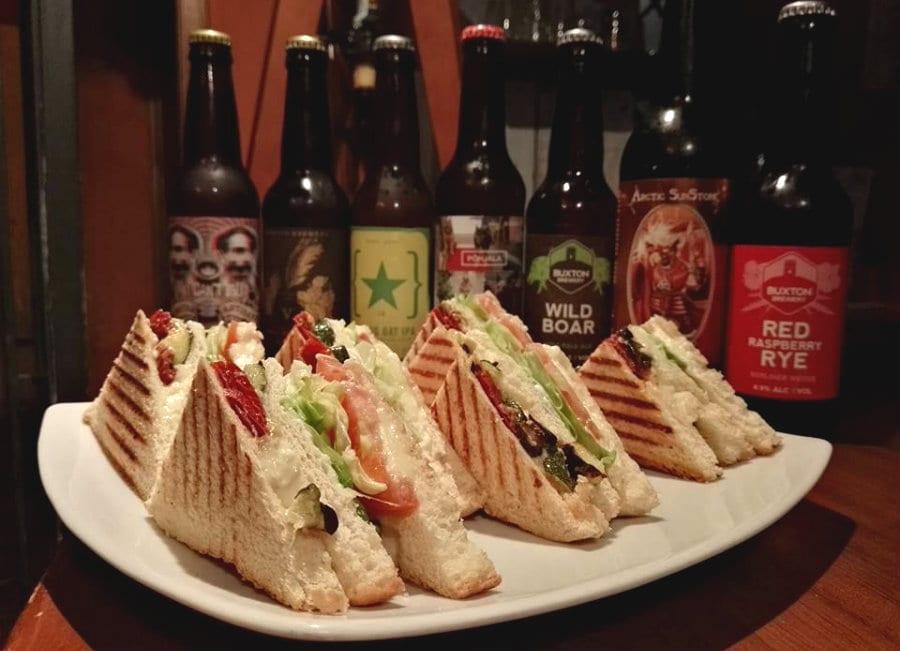 I club sandwich di Alter Ego Beer&Food