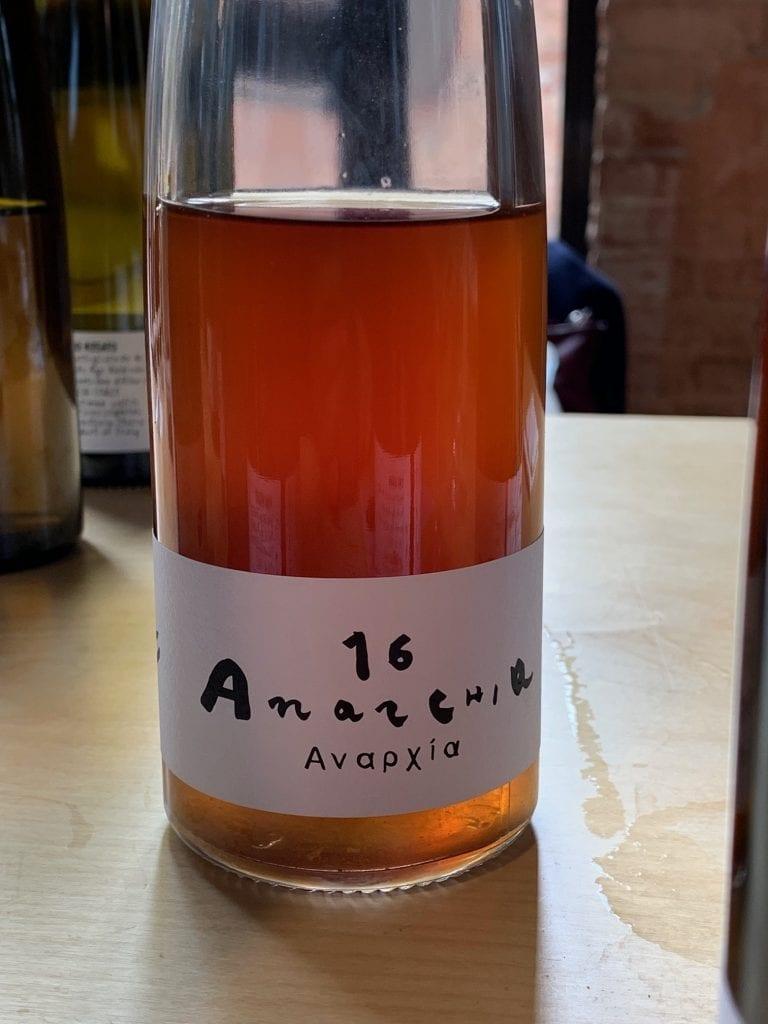 bottiglia Anarchia