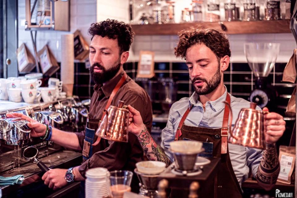 Matteo Caruso (sinistra) e Andrea Cremone (destra)