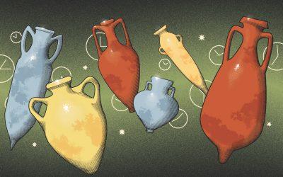 Anfore, giare e altri contenitori ancestrali tornano in voga