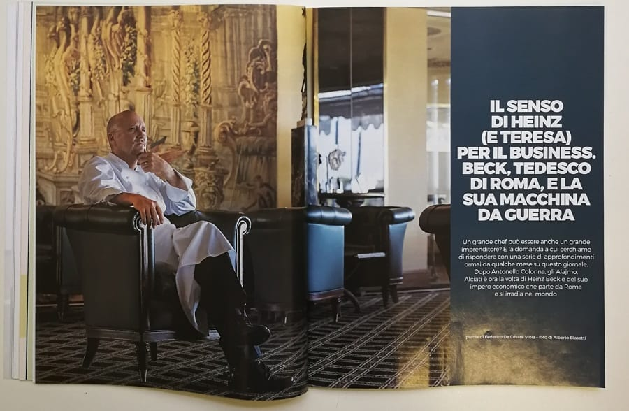 Agosto 2018 del Gambero Rosso, numero 319. Ferran Adrià, 20 anni ...