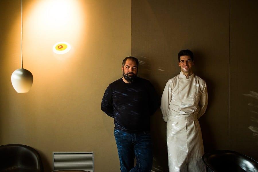 Raffaele e Massimiliano Alajmo. foto Lido Vannucchi