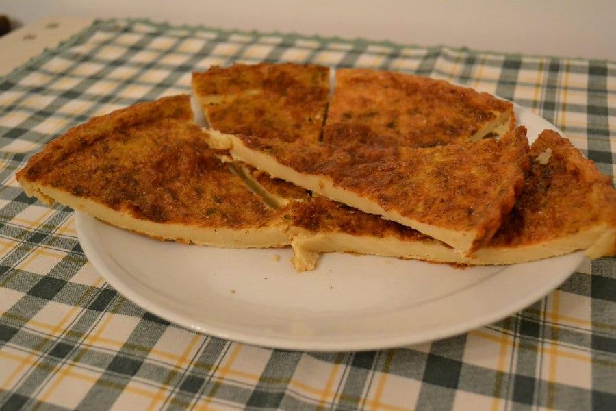 Cecìna o torta di ceci - foto di Carpe Diem