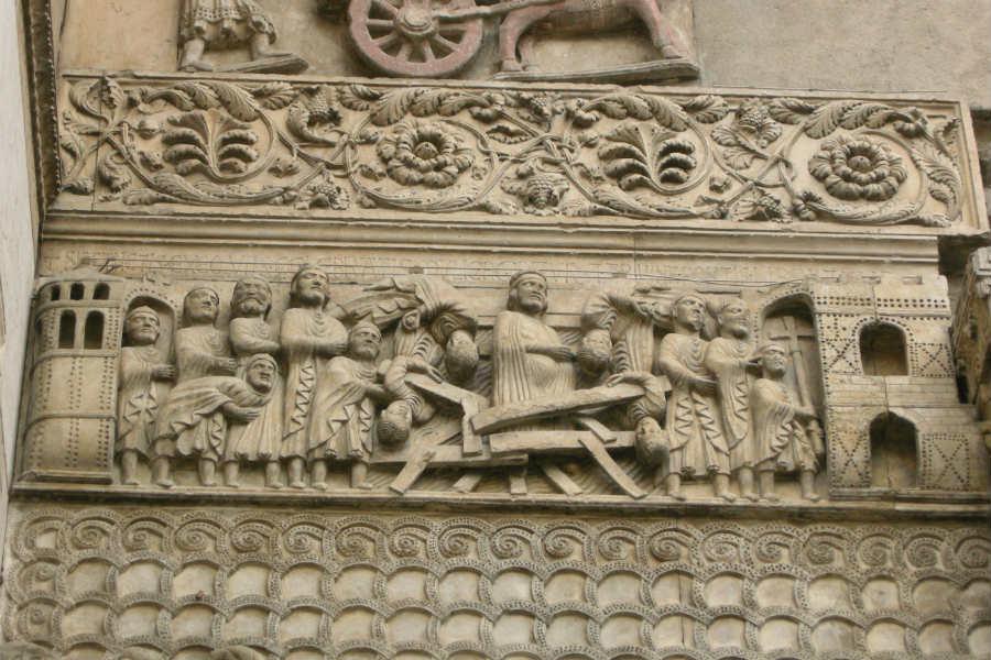 I bassorilievi del Duomo di Fidenza