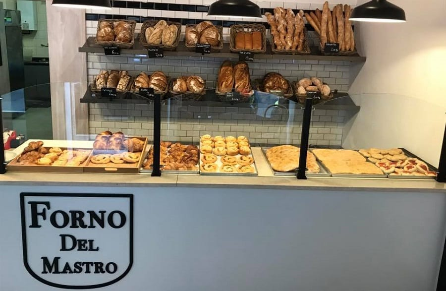 Il banco del Forno del Mastro a Monza