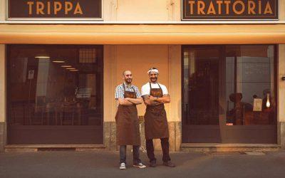 Ristoranti che non aprono a Milano. Diego Rossi e Pietro Caroli di Trippa