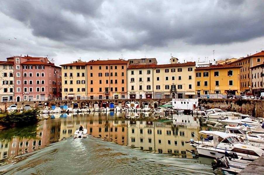 Il canale di Livorno