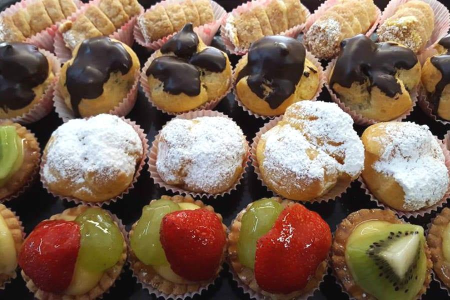 i bignè gluten free della pasticceria Navotti di Milano