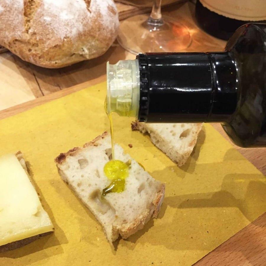 Abbinamenti pane e olio