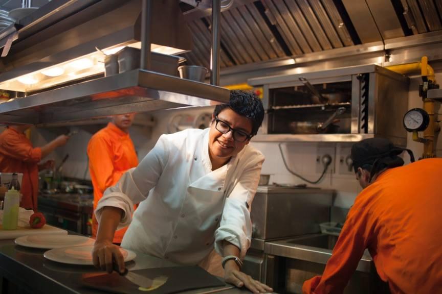 Ritu Dalmia in cucina