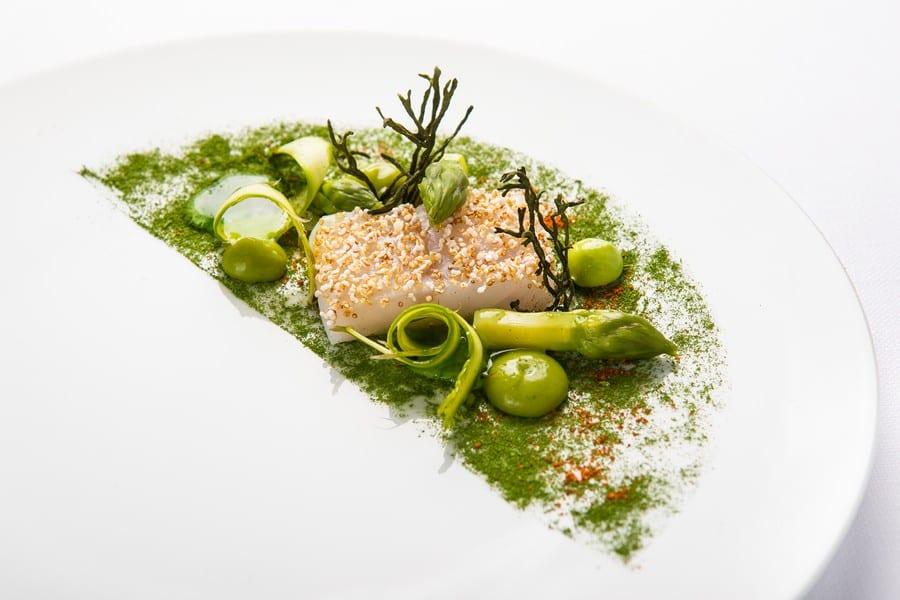 Rombo e asparagi by Heinz Beck