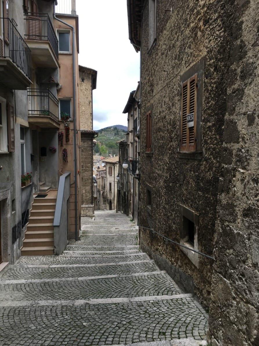 Scanno, uno degli scorci del borgo