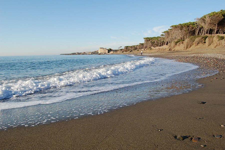 Spiaggia di Cecina, provincia di Livorno