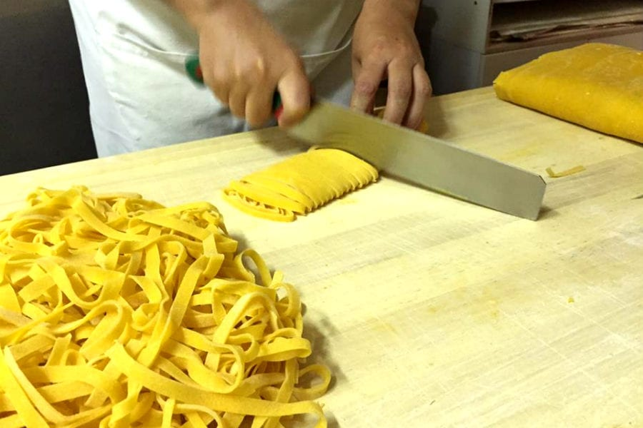 Tagliatelle, Pasta fresca Naldi