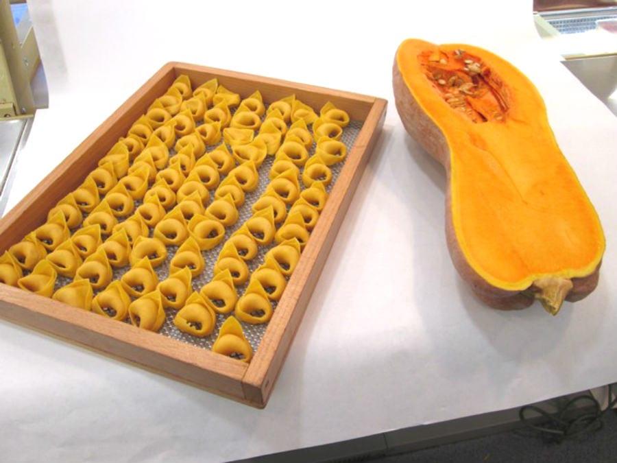 Tortelloni alla zucca del pastificio Simoni