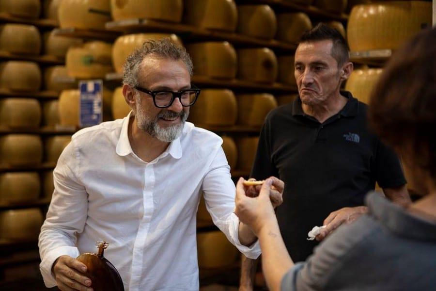 Basque Culinary Center.  Massimo Bottura a Modena
