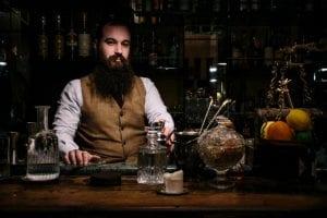 I migliori barman d'Italia: Benjamin Cavagna di 1930 a Milano