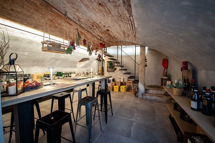 La cantina nascosta della pizzeria di Renato Bosco