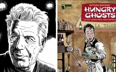 Anthony Bourdain e il fumetto Hungry Ghosts