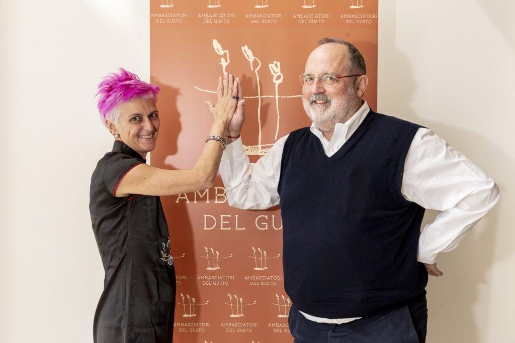 Cristina Bowerman e Paolo Marchi
