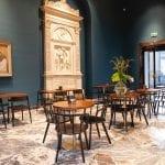 La sala del Caffè Fernanda alla Pinacoteca di Brera