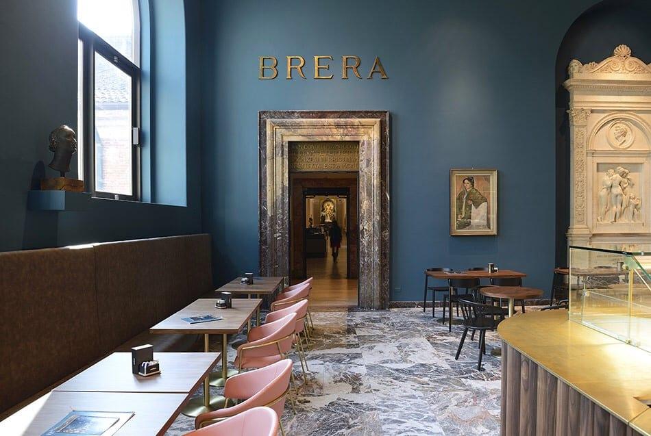 Caffè Fernanda alla Pinacoteca di Brera
