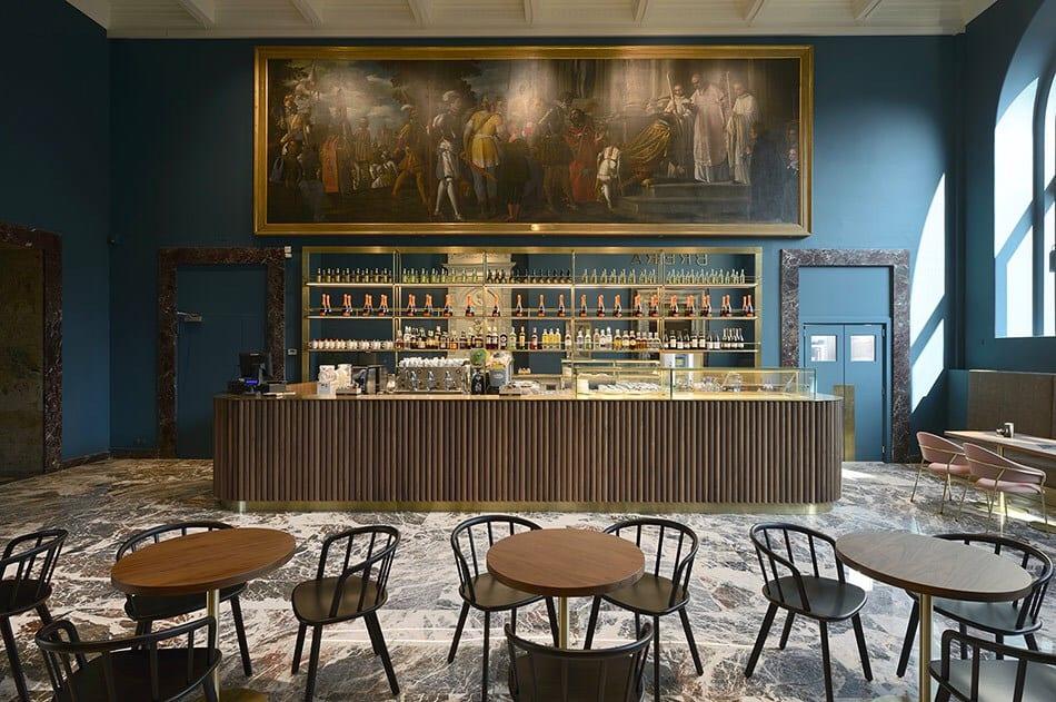 Il Caffè Fernanda alla Pinacoteca di Brera