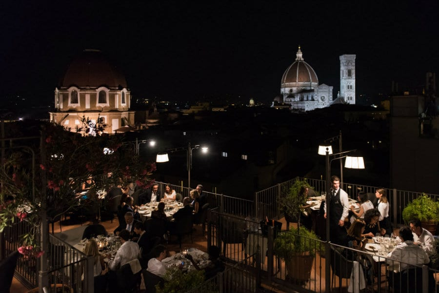 B-Roof Hotel Baglioni a Firenze