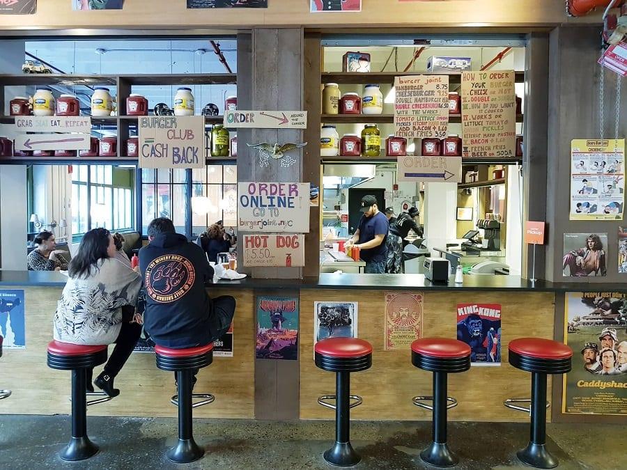 Burger Joint a Brooklyn